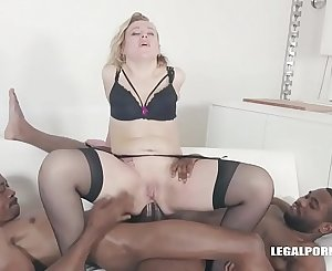 Jism Gargling Slut Liberta Black Loves Anal