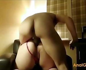 Brutally penalize rough painanal anal hook-up