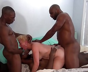 Seka Goes AIRTIGHT With Her Mandingo Bull And Friends
