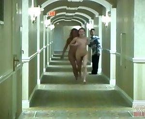 GIRLS GONE WILD - Youthfull Lezzies Sara and Jamie Running Amok In A Hotel