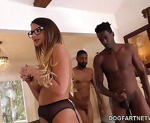 BBC D/s Brooklyn Chase Gives Special Treatment To Her Cuckold Client