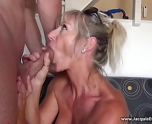Mature 50 year old Anal --- Marina Beaulieu (French MILF) --- Kendra Lust