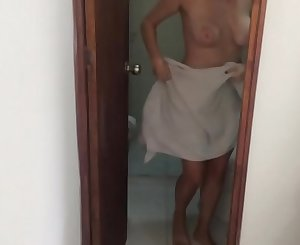 Caught My Teen Step Sister Masturbating In The Shower