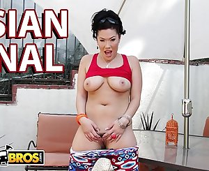 BANGBROS - Busty Asian Babe London Keyes Takes Anal From Mike Adriano