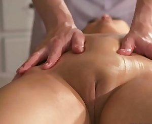 Massage Rooms Big natural tits Asian beauty has squirting