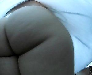 Mega Ass Upskirt