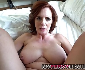 Horny Busty Mummy Andy Fucks Her Step Sons Big Cock!