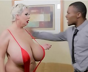 Huge Tit Prostitute Claudia Marie Demolished By Black Stud
